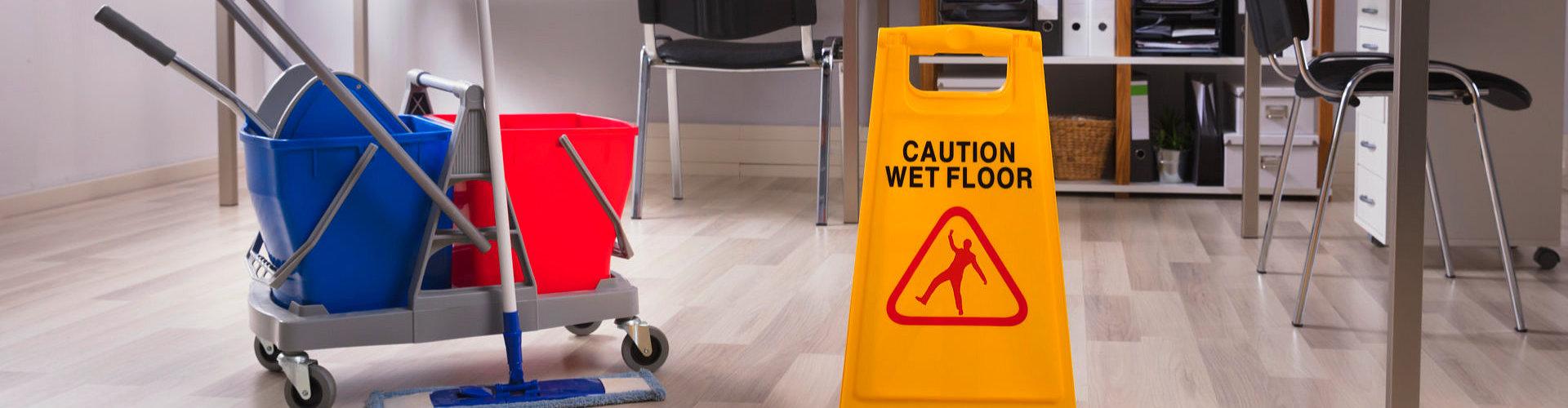 wet floor signage